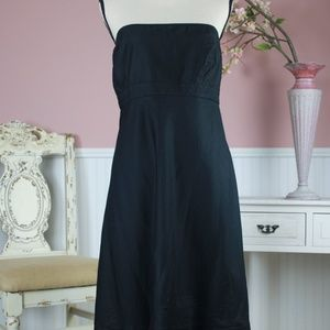GAP Black Strapless Dress Size 20
